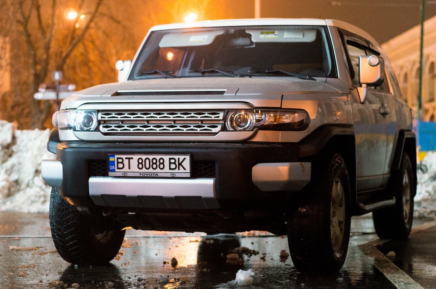 Водитель: Безгодков Дмитрий<br/>Штурман: Гладченко Григорий<br/>Машина: Toyota FJ Cruiser (2006г., 3956см³)<br/>Класс: N4<br/>Стартовый №: 499