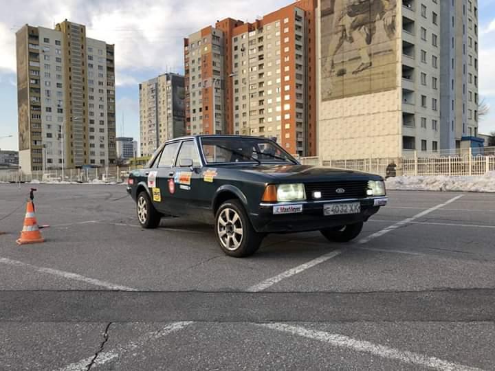 Водитель: Гвоздь Антон<br/>Штурман: Бараннікова Віктория<br/>Машина: Ford Granada (1978г., 2300см³)<br/>Класс: G