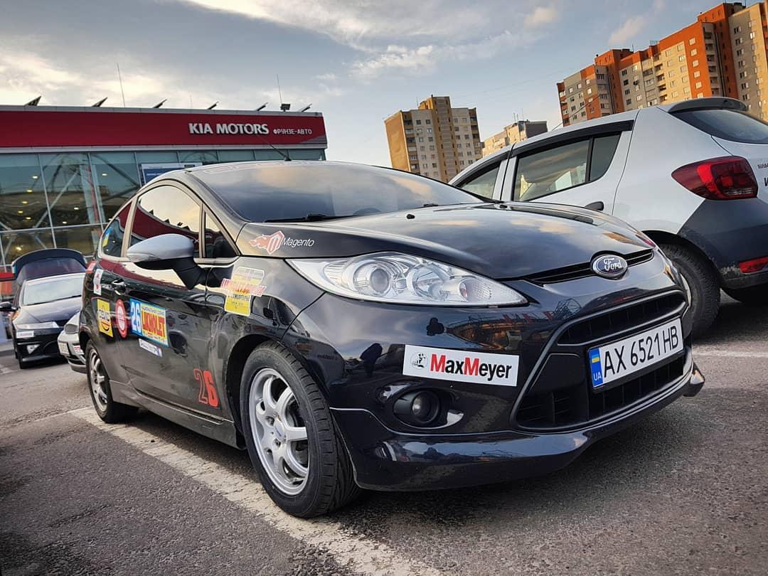 Водитель: Залесская Юлия<br/>Штурман: На Регистрации<br/>Машина: Ford Fiesta (2010г., 1596см³)<br/>Класс: N2